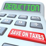 Deduction Save on Taxes Loopholes Exemptions on Calculator
